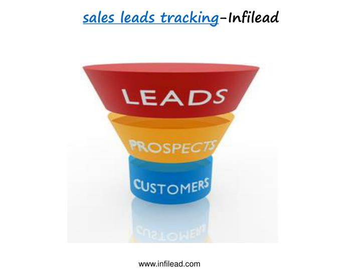 Sales leads tracking infilead