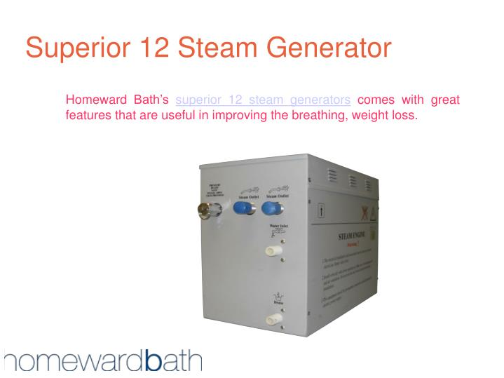 Superior 12 steam generator