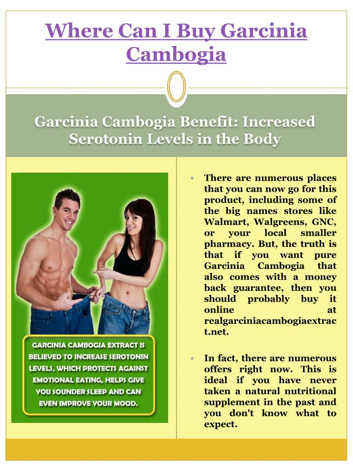 Where can you buy garcinia cambogia