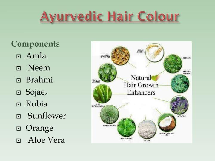 Ayurvedic Hair Colour