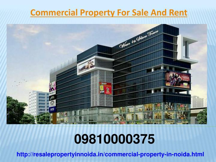 Commercial Property For Sale And