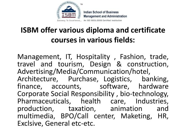 Distance Education Travel And Tourism Courses In India
