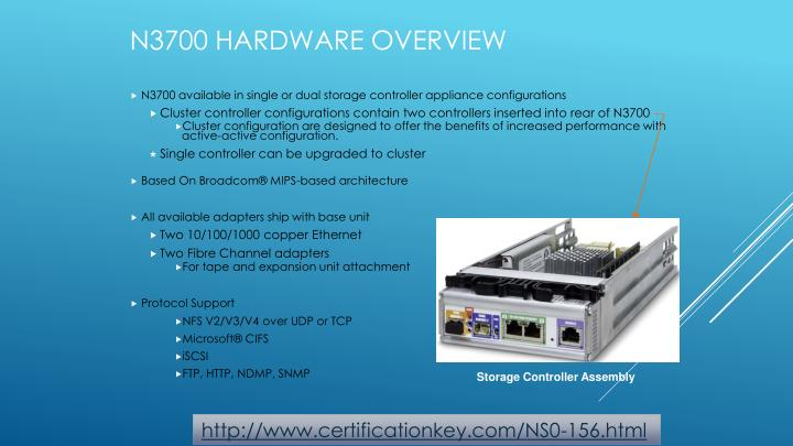 N3700 Hardware Overview