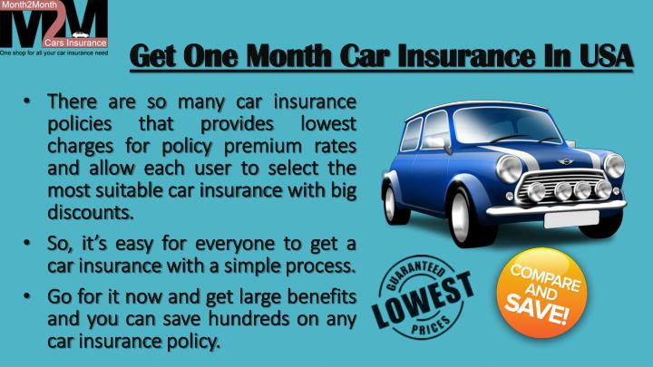 PPT - Month To Month Car Insurance Companies PowerPoint ...
