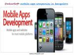 omkarsoft mobile app companies in bangalore