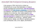 omkarsoft web development company bangalore