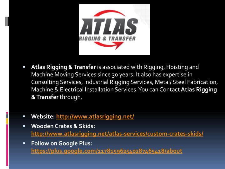Atlas Rigging & Transfer