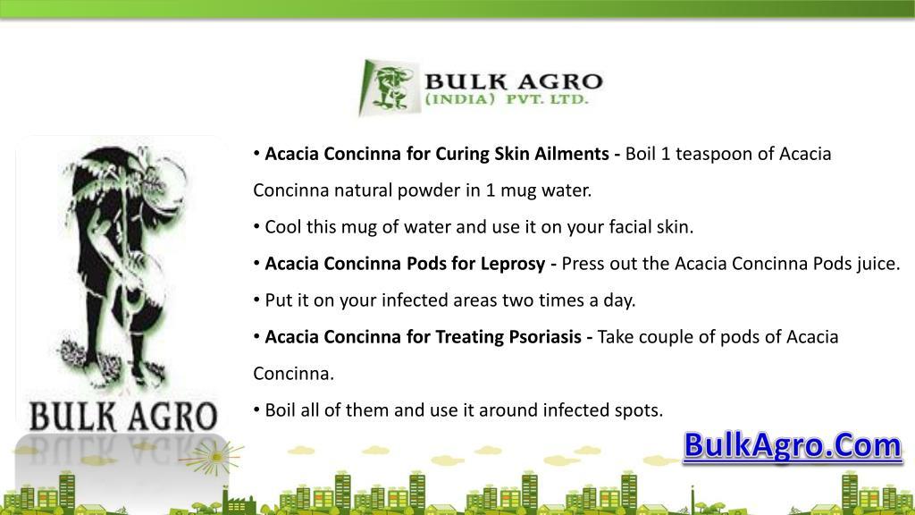 Ppt Health Benefits Of Acacia Concinna Or Shikakai Powerpoint