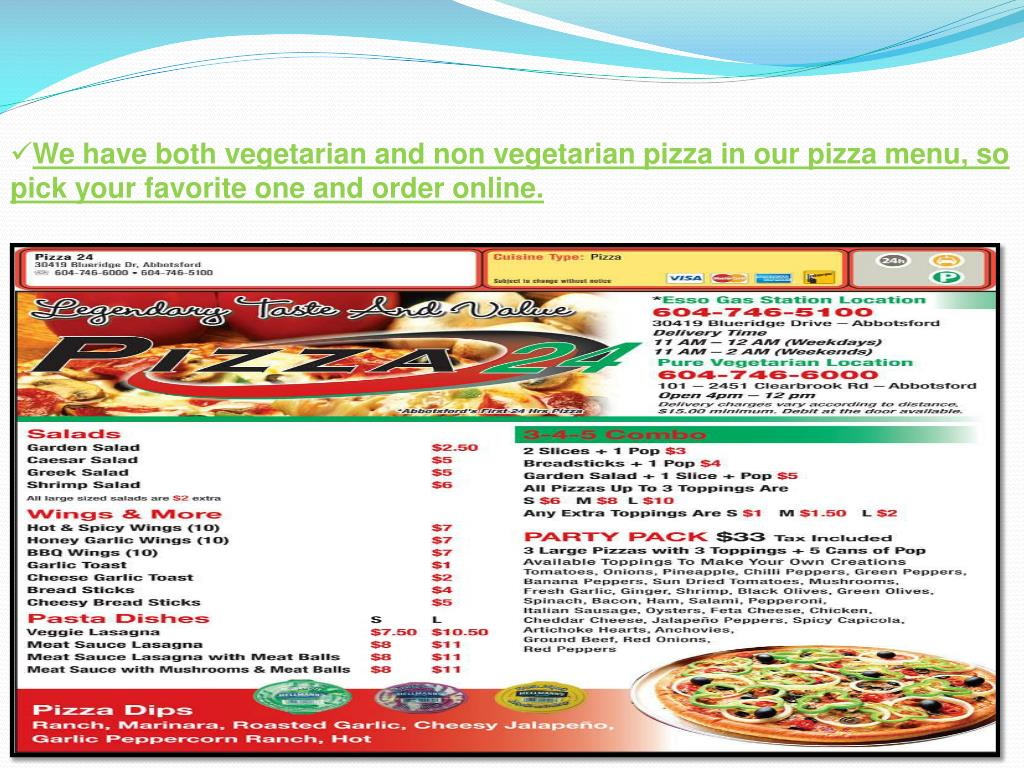 Ppt Best Pizza In Abbotsford Powerpoint Presentation Free Download Id 7113033