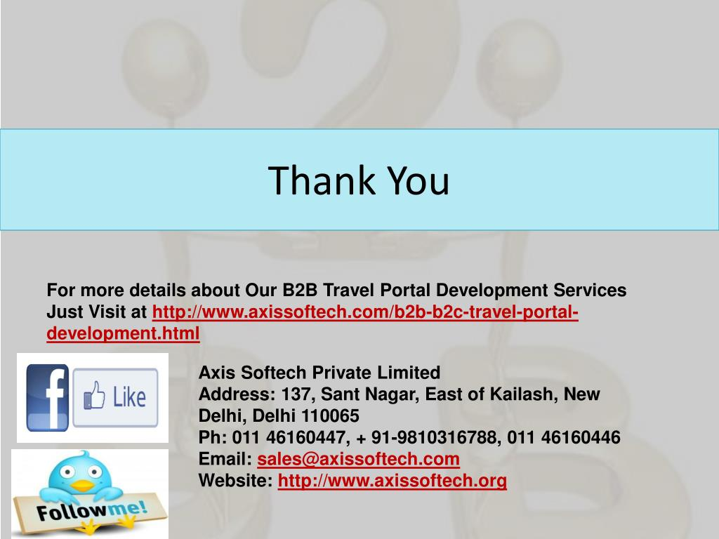 PPT - B2B-Portal-for-Travel-Agents-in-India PowerPoint
