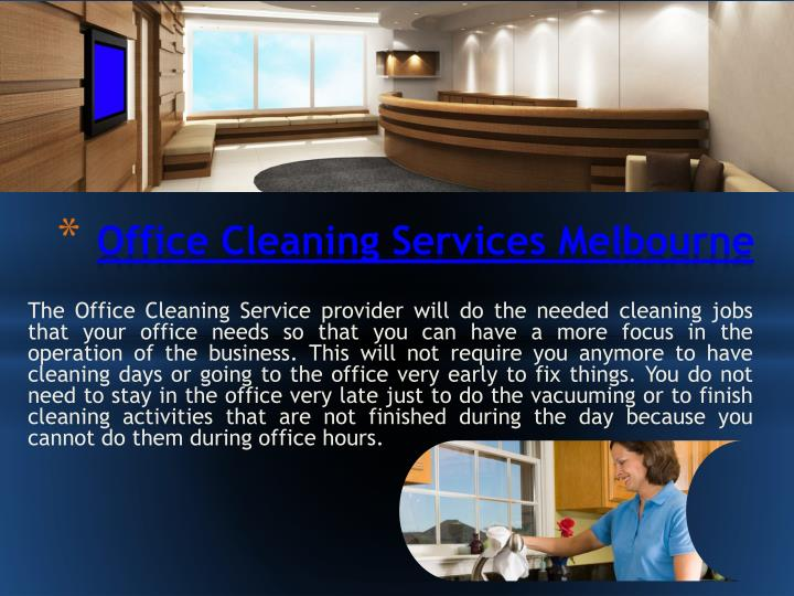 office cleaning services melbourne n.