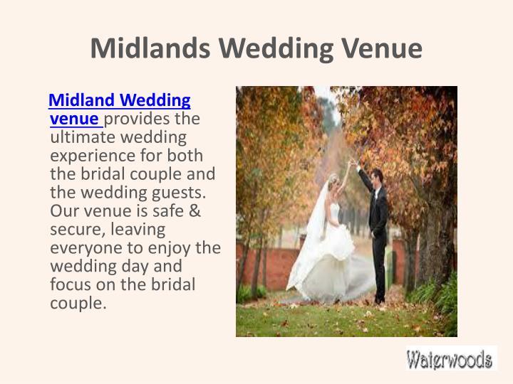 Midlands wedding venue