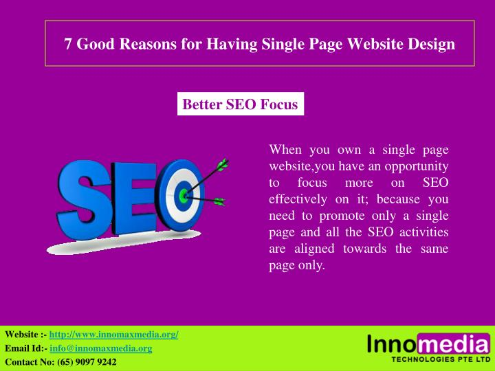 7 good reasons for having single page website design1