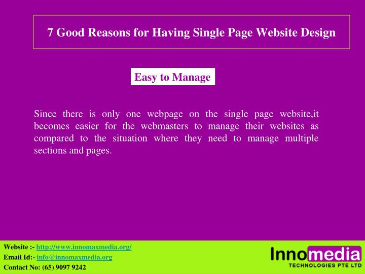 7 good reasons for having single page website design2