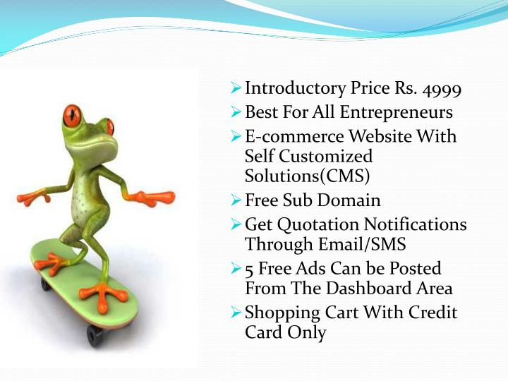 Introductory Price Rs. 4999