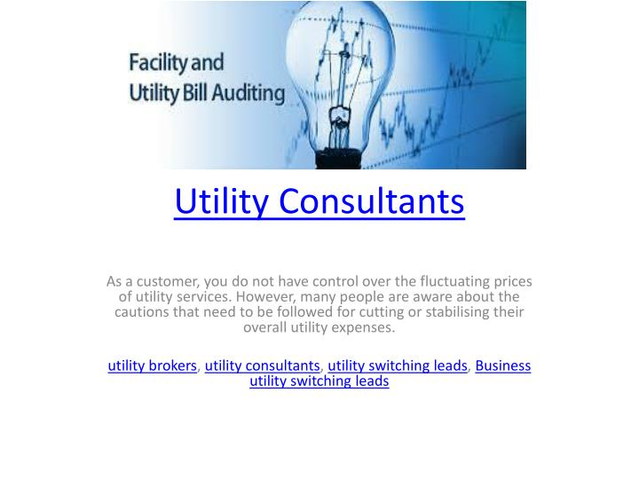 utility consultants n.