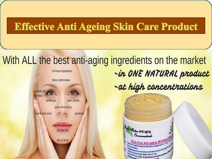 effective anti ageing skin care product n.