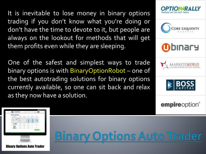 binary options auto trader n.