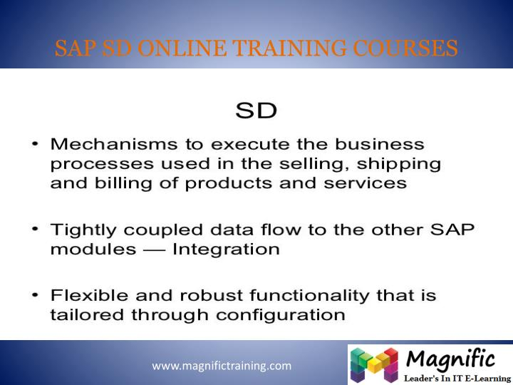 Sap sd online training courses