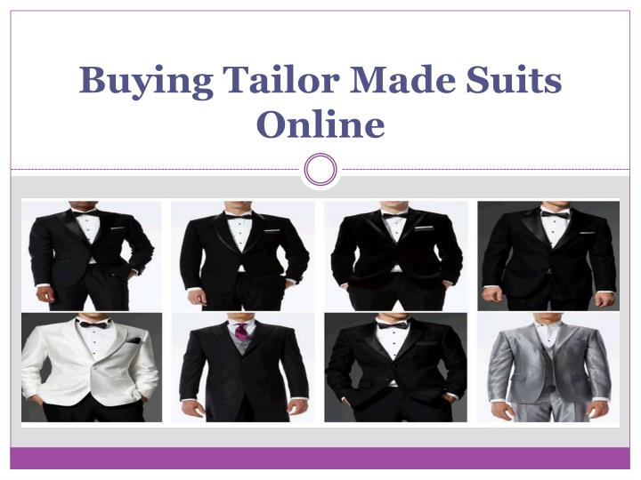 buying tailor made suits online n.