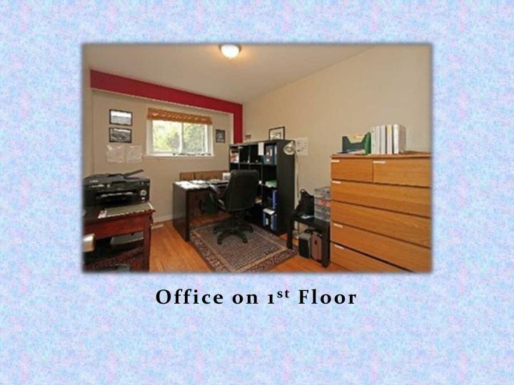 Office on 1