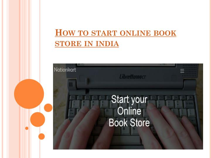 how to start online book store in india n.