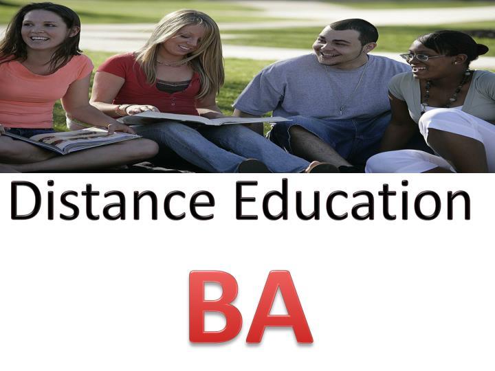 Ba distance education sector 3 noida