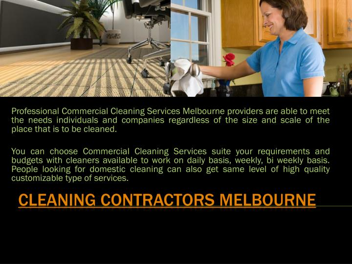 cleaning contractors melbourne n.