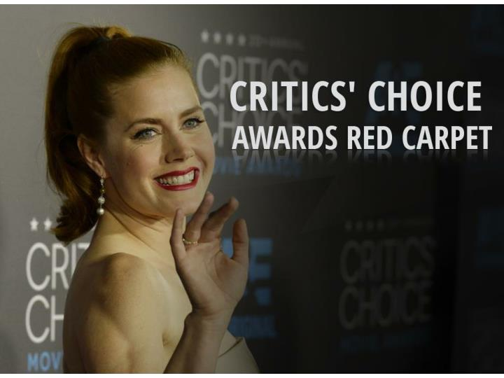 critics choice awards red carpet n.