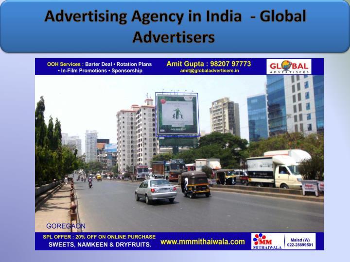 Advertising agency in india global advertisers1