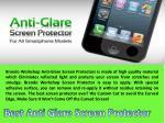 best anti glare screen protector