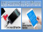 usb accessories for iphone