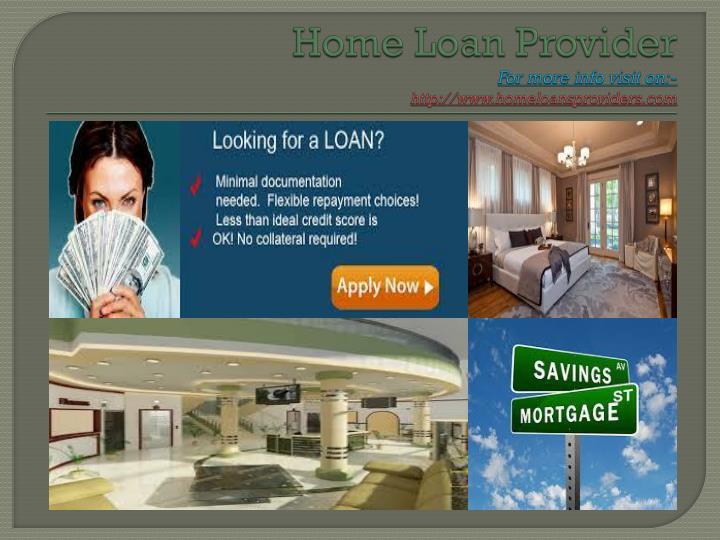 Home Loan Provider