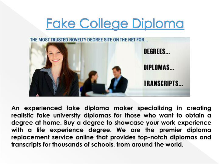 ppt how to make a fake diploma powerpoint presentation id 7117210