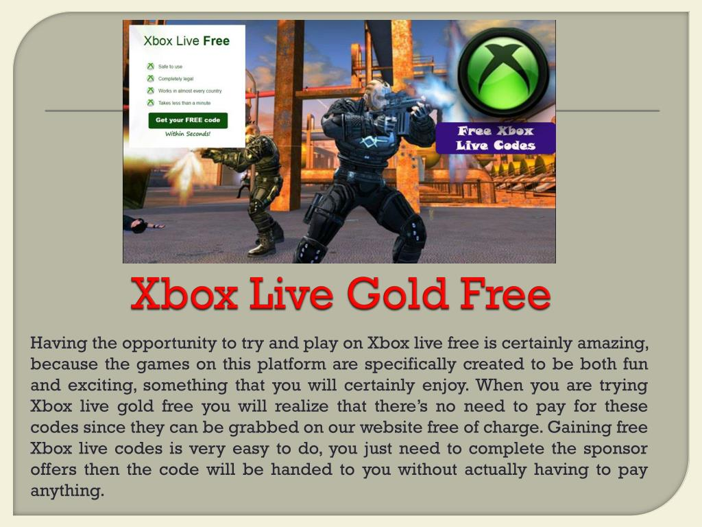 Gold free code