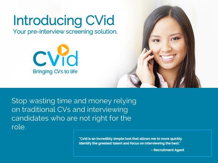 Introducing CVid