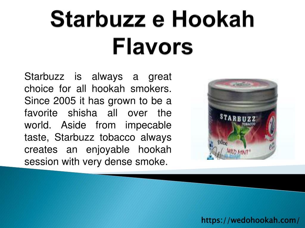 Starbuzz e hookah flavors