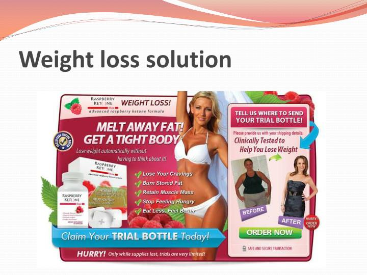 weight loss solution n.