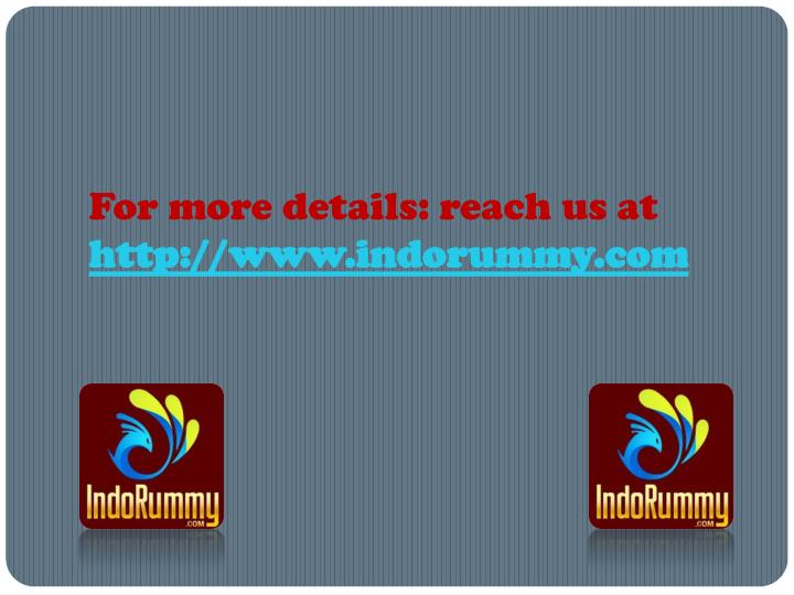 For more details: reach us at