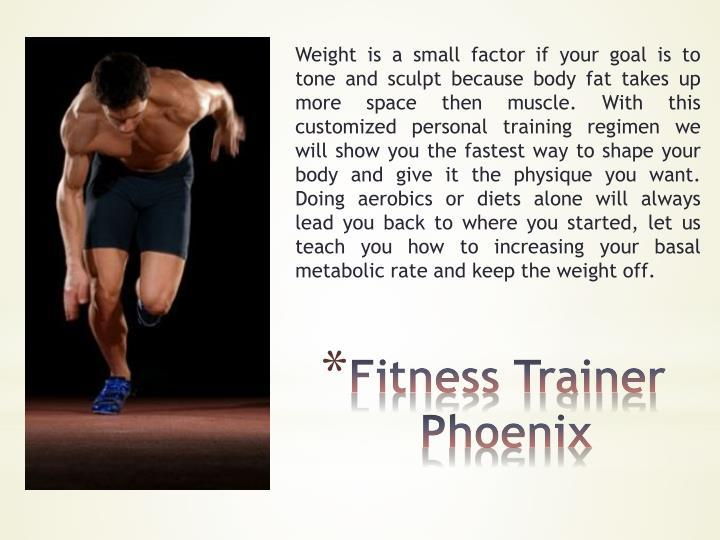 Fitness trainer phoenix