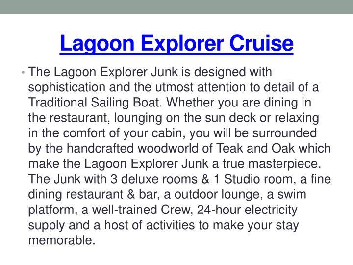 Lagoon explorer cruise1