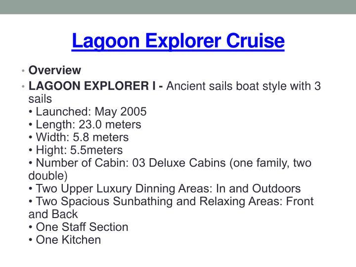 Lagoon explorer cruise2