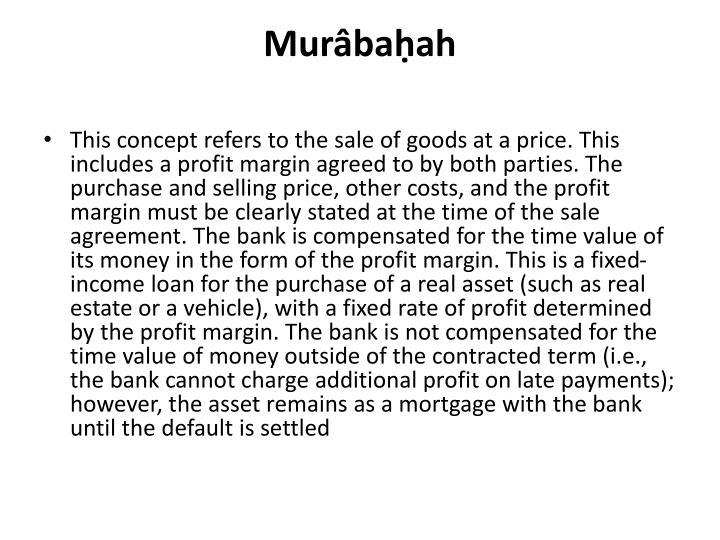 Murâbaḥah