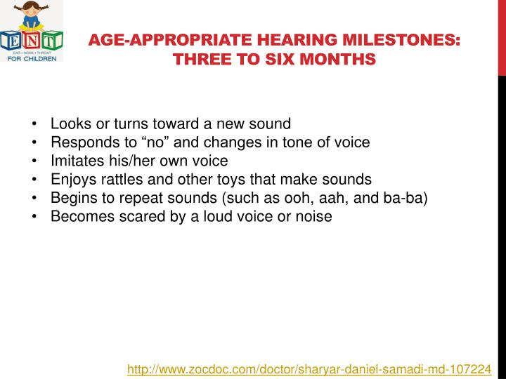 Age-Appropriate Hearing