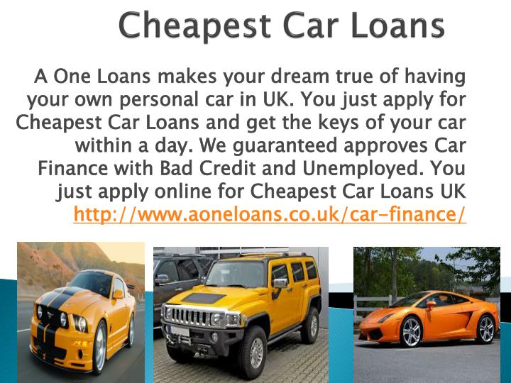 Cheapest Home Loans For Bad Credit