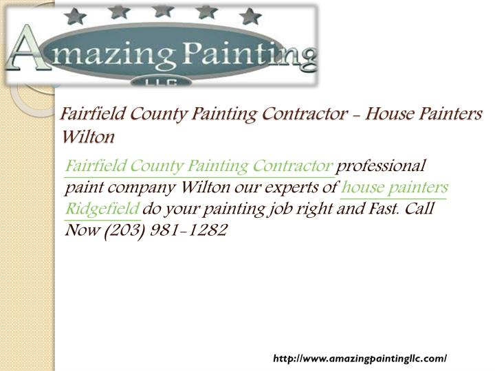 fairfield county painting contractor house painters wilton n.