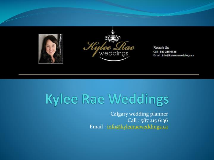 ppt kyleerae wedding services offers complete wedding planning s