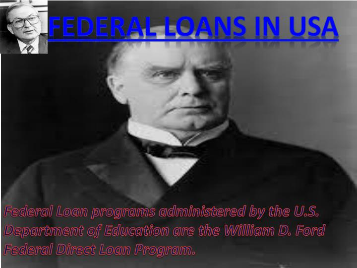 Federal Direct Student Loan Program