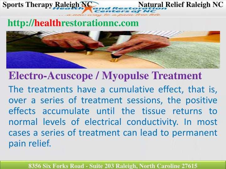 Sports Therapy Raleigh NCNatural Relief Raleigh NC
