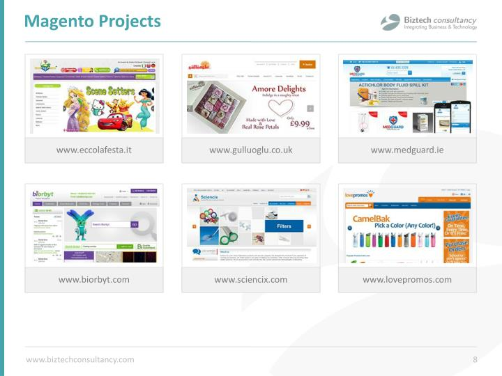 Magento Projects